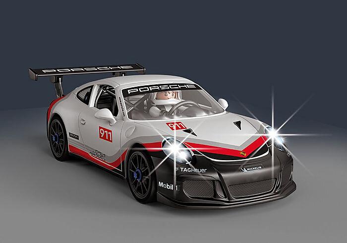 frontal del Porsche 911 GT3 Cup de playmovil