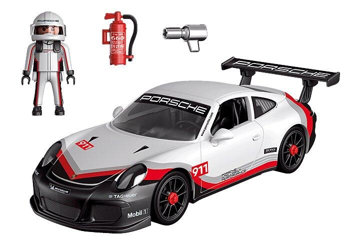 piezas del Porsche 911 GT3 Cup de playmovil