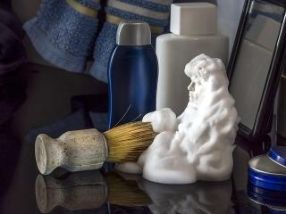 crema de afeitar para desempañar el cristal