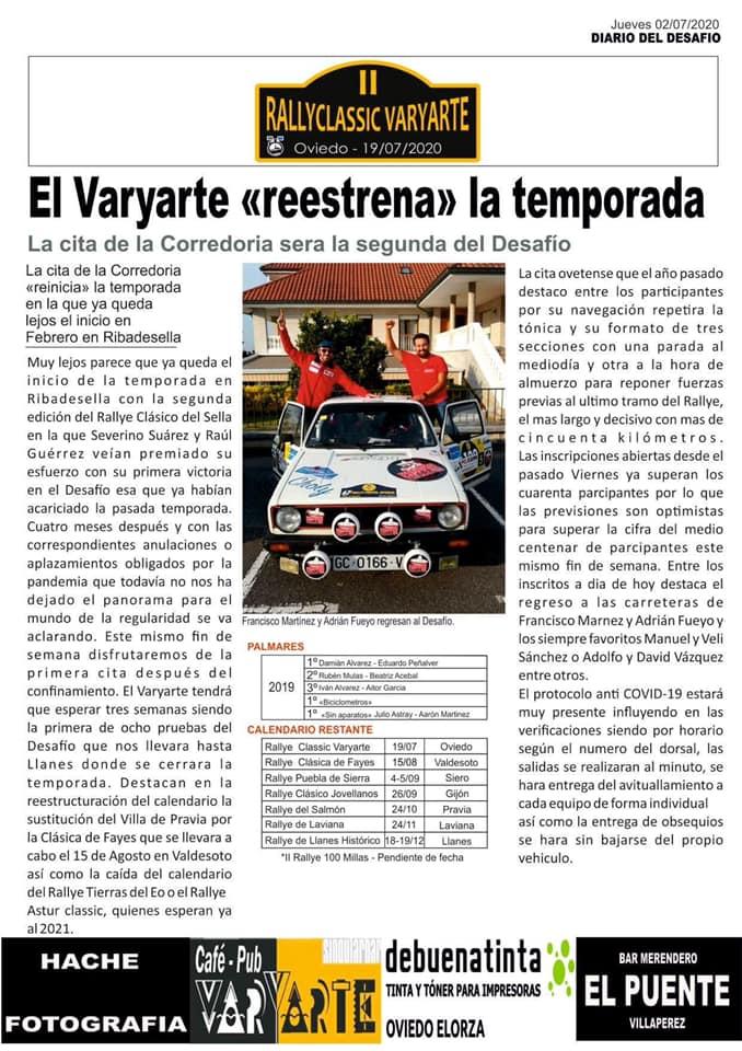 Rallyclassic Varyarte